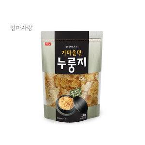 한끼든든 가마솥맛 누룽지 1kg     /국내산/누룽지탕 - 상품 이미지