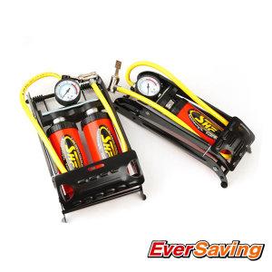 자전거 발 펌프 휴대용 에어 공기 주입기 바람넣기