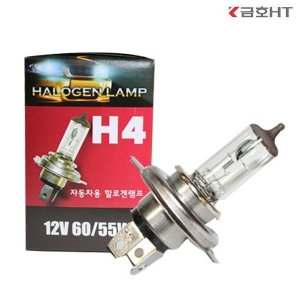 금호 자동차전구 전조등 H4 60w 100w 라이트