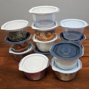 냉동밥보관용기 냉동보관용기 이로홈 쿡앤밥 3호 13개