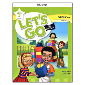 Lets Go 5th Begin 2 Workbook with Online Practice