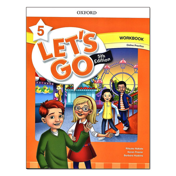 Lets Go 5th 5 Workbook with Online Practice