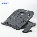 QNIX 노트북+휴대폰 거치대 회전식 각도조절 QNC-7000