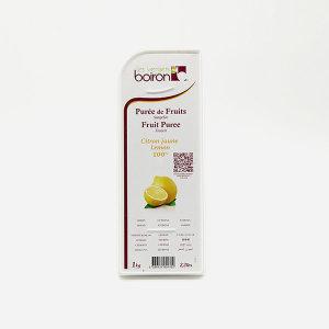 브아롱 Boiron 제원 레몬 냉동 퓨레 1kg