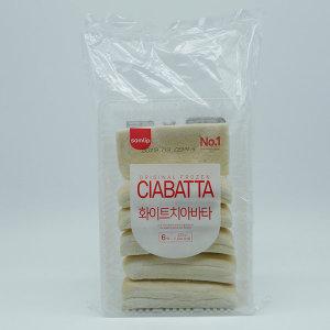 삼립 화이트 치아바타 6입 420g