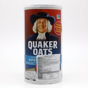 퀘이커 Quaker 오츠 오트밀 1.19kg