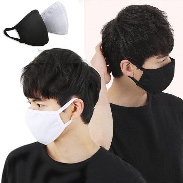 3D입체 면 마스크 검정 패션 연예인