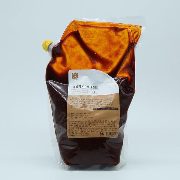 소스공방 떡볶이소스A 순한맛 2kg