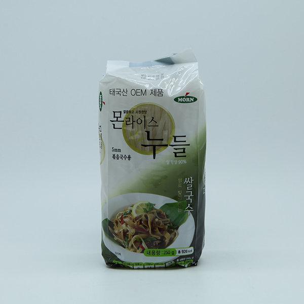 몬 MORN 라이스누들 쌀국수 5mm 볶음국수용 250g