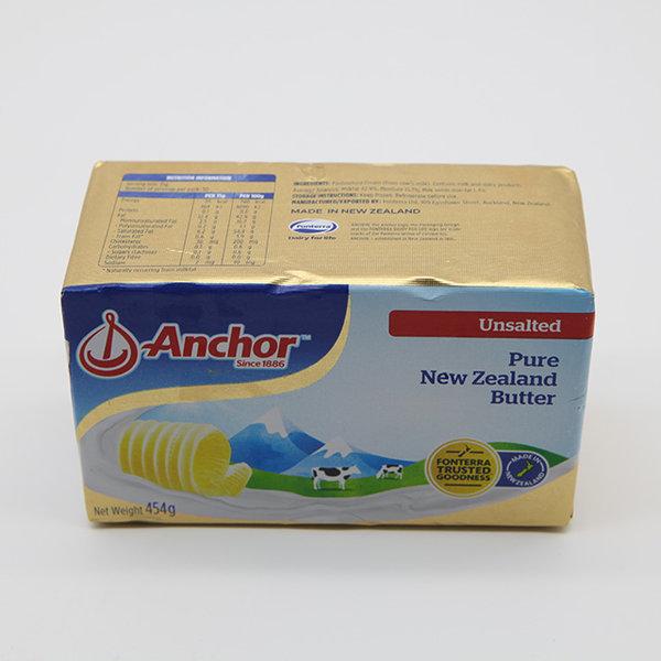 앵커 퓨어 크리머리 버터 무염 454g