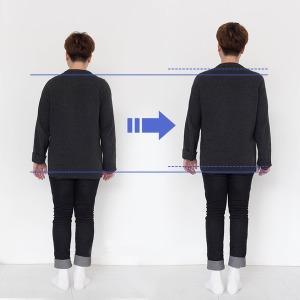 키커밴드 실리콘 키높이 양말 속 깔창 2.5-3.5cm