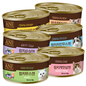 ANF 고양이 참치순살캔 외 5종 95gX24개