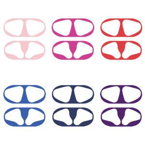 2+2 에어팟 철가루 방지 스티커 컬러 패턴