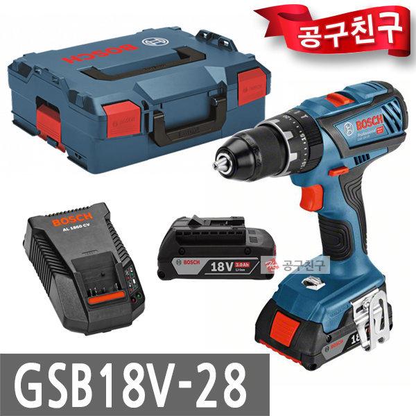 보쉬 GSB18V-28 충전햄머드릴 컴팩트형 함마해머드릴