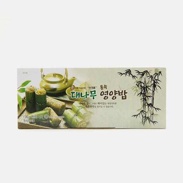딤섬 대나무 통속 영양밥 1.08kg