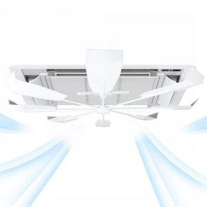 냉난방비절감 천장형 에어컨 무동력 공기순환기