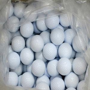 연습용 필드초보용 막쓰는 화이트 기본 골프공