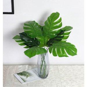 몬스테라인테리어조화/소철/야자수잎/그린플랜테리어