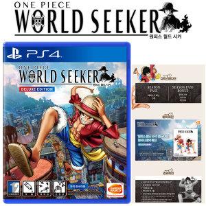 PS4 원피스 월드 시커 / 한글판 초회판 새상품