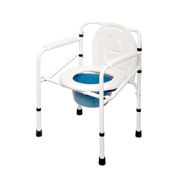 환자용 좌변기 + 변기통 OJS-005 접이식 목욕의자겸용