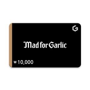 (매드포갈릭) 기프티카드 1만원권