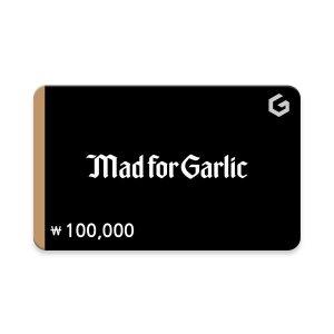 (매드포갈릭) 기프티카드 10만원권
