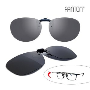 (FANTON(팬톤)) 팬톤 FANTON 플립업(Flip-Up) 편광 클립선글라스 4종 택1
