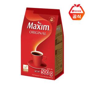 맥심  오리지날  500g 리필형 커피 C