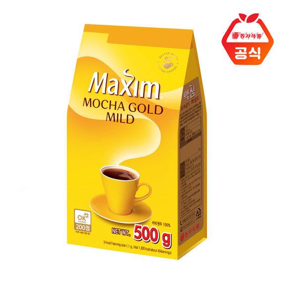 맥심  모카골드  500g 리필형 커피 b