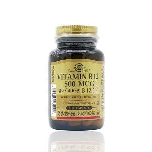 솔가 비타민B12 500(100정 3개월 10일) 1개