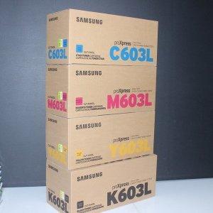 콜5) 4색 세트 CLT-K603L C603L M603L CLT-Y603L 정품