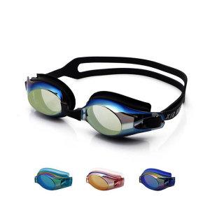 미러 수경 물안경 아동 성인 귀마개증정 XH7610