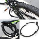 자전거 4관절락 자전거자물쇠자전거열쇠 잠금장치