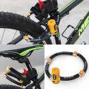 (토니온)4관절 자전거자물쇠 자전거 자물쇠 열쇠 용품