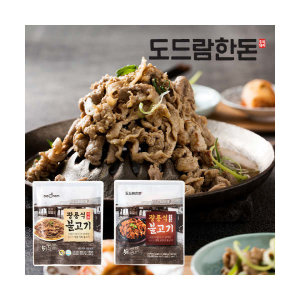 (현대Hmall) 도드람한돈 광릉식 직화 불고기/고추장불고기 200gx3팩