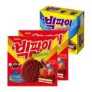 빅파이 딸기 324g 2박스+블루베리 298g 1박스