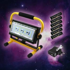 CREE L2 3600루멘 충전식 100W LED 투광기 / 할인