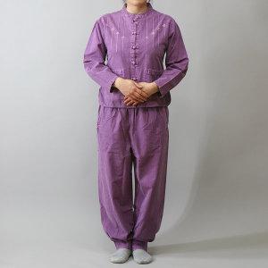 다담이우리옷 꽃자수블라우스-생활한복/개량한복/법복