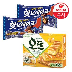 오리온 _핫브레이크 미니+오뜨 치즈12P