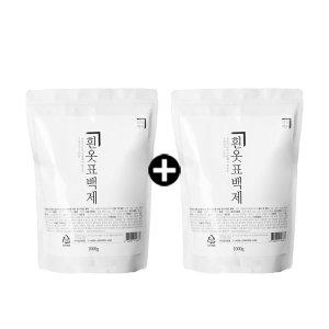 살림백서 흰옷 표백제 1kg X 2 EA