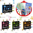 Quick  Easy Phonics Book 퀵 앤 이지 파닉스 1 2 3 4 -전 4권(풍부한 사은품)유아6세~초등 4학년/기탄교육