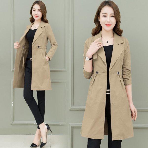 여성 트렌치 코트 바바리코트 더블 캐주얼 신상 xx45