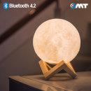 OMT 달무드등 블루투스스피커 OBS-M144 조명 LED