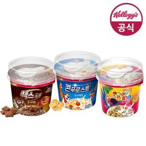 켈로그 컵 시리얼 12개 (1박스)