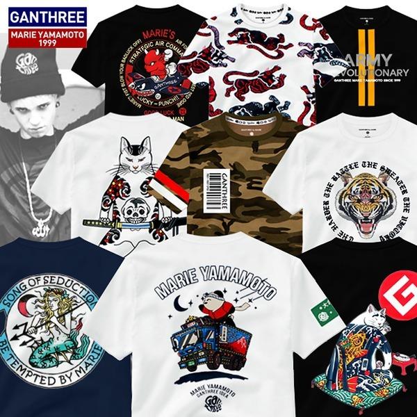 간쓰리 비침없는20수 반팔티 M~XXL 디자이너 티셔츠