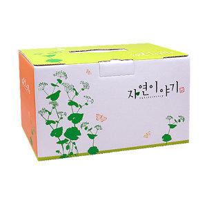 한약박스(기성품)고급 자연이야기  40장/B골/한약박스
