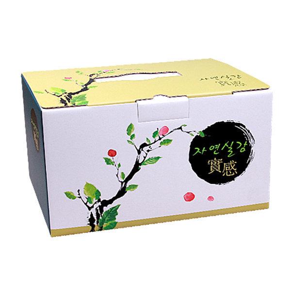 한약박스(기성품)고급 자연실감 40장 /B골/한약박스/