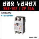 서울산전 산업용누전차단기 SKE-102 2P-75A