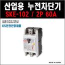 서울산전 산업용누전차단기 SKE-102 2P-60A