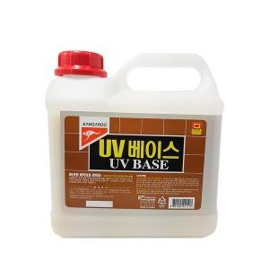 UV베이스 3.75 코팅 원목 마루 바닥 광택제 강화 보호